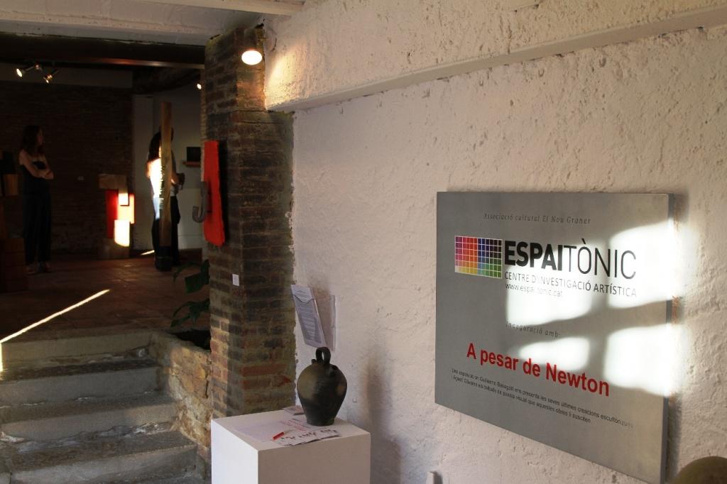 """Gran èxit en la inauguració del Centre de Creació Artística """"ESPAI TÒNIC"""""""