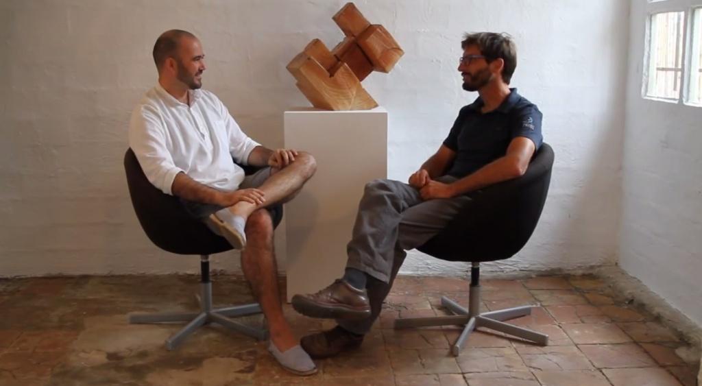 Diàleg d'artistes: Guillermo Basagoiti i Agustí Olivares a ESPAI TÒNIC