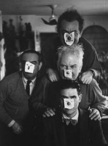 Pablo Picasso, Alberto Giacometti and Henri Matisse
