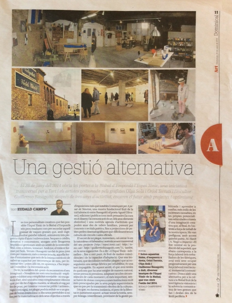 Una gestió alternativa - Diari de Girona