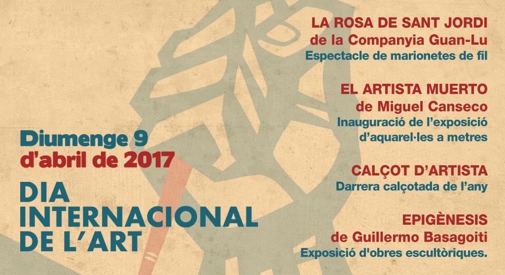 Activitats varies pel Dia Internacional de l'Art