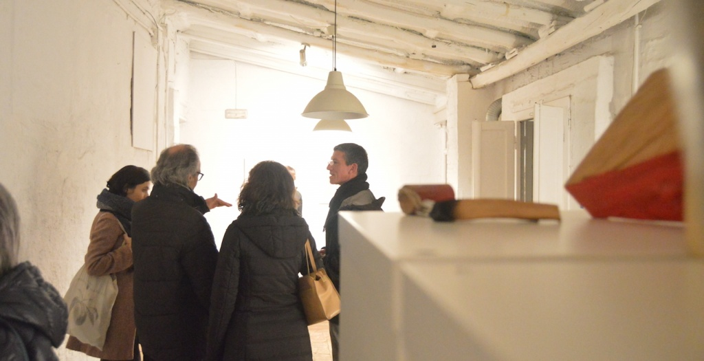 Víctor Martín cobreix la inauguració Retrats de Javier Garcés