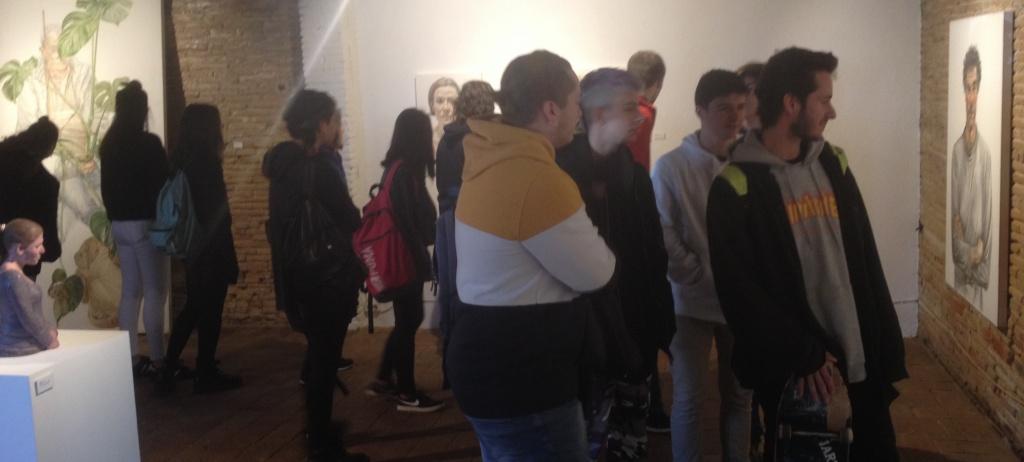 Ens visiten 1r i 2n de batxillerat artístic de la Bisbal d'Empordà!