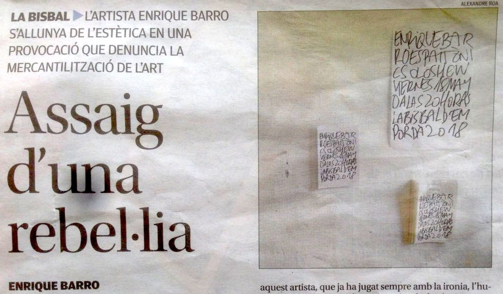 Assaig d'una rebel·lia – Diari de Girona