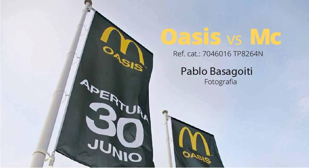 Oasis vs McDonald's, per el fotògraf Pablo Basagoiti