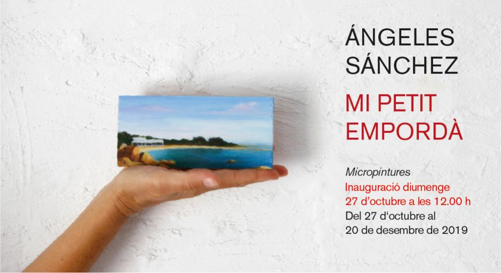Micropintures de l'Empordà per Angeles Sánchez