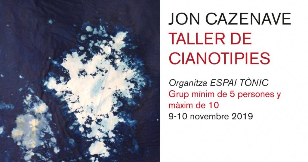 Taller de Cianotipies per Jon Cazenave
