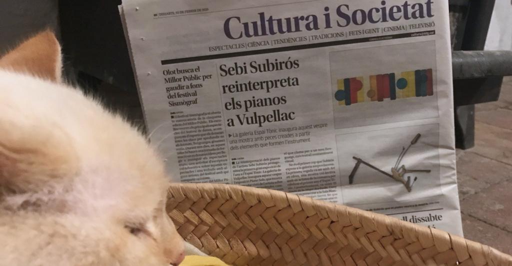 Diari de Girona recomana l'exposició de Sebi Subirós