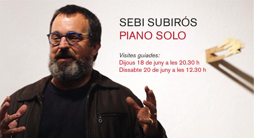 Visites guiades a l'exposició PIANO SOLO
