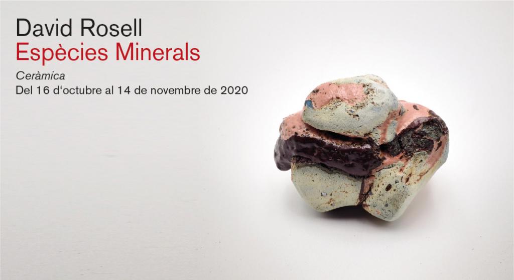 """""""Espècies Minerals"""" del ceramista David Rosell"""
